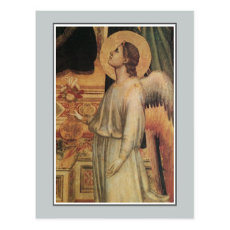 Engel, Ognissanti Madonna, Giotto Postkarte
