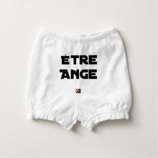 ENGEL SEIN - Wortspiele - Francois Ville Baby-Windelhöschen