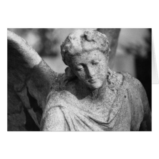 Engel • Trauerkarte Karte