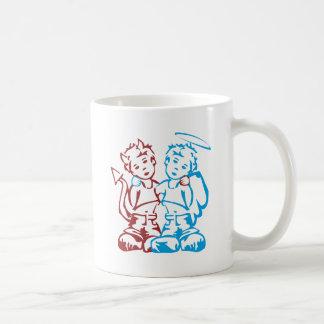 Engel u. Dämon Kaffeetasse