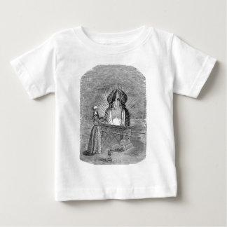Engel über der Arche des Vertrages Baby T-shirt