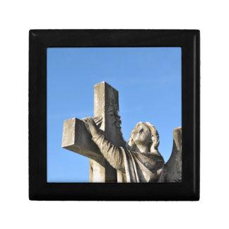 Engel und Kreuz Geschenkbox