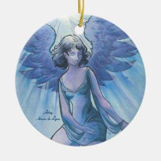 Engel von Anmut Rundes Keramik Ornament
