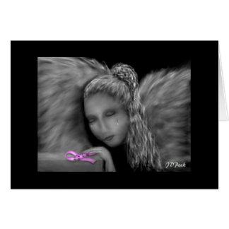 Engel von Hoffnung ~Pink Band Karte