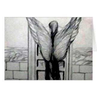 Engel Wings Designer-Produkte durch CricketDiane Grußkarte
