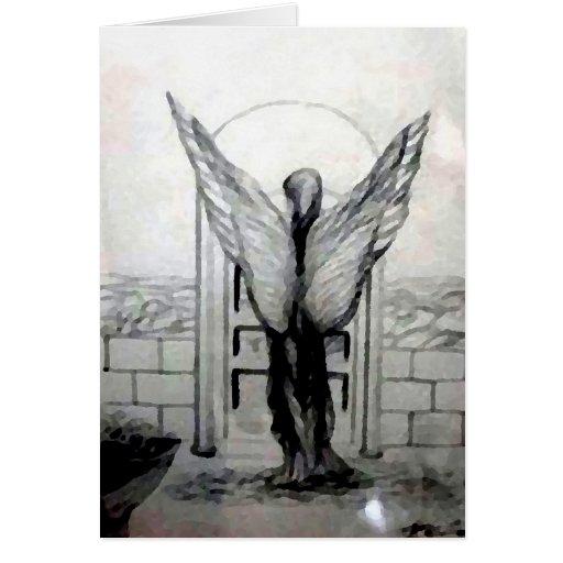 Engel Wings Designer-Produkte durch CricketDiane Grußkarten