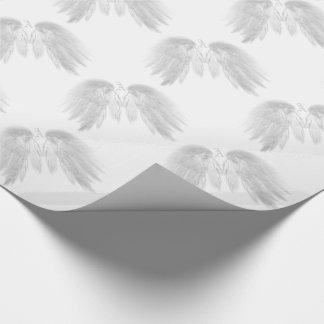 ENGEL WINGS Monogramm-Weiß Geschenkpapier