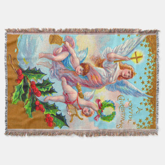 Engels-Engel-christliche Querbellwreath-Stechpalme Decke