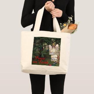 Engels-Freude-Taschen-Tasche Jumbo Stoffbeutel