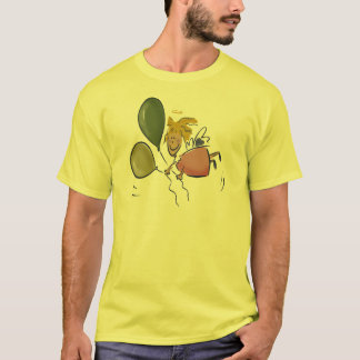 Engels-Gesichts-Amor-T - Shirts und Geschenke