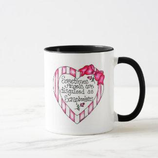 Engels-Herz Scrapbooker T-Shirts und Geschenke Tasse