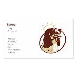 Engels-HundeVisitenkarte-Schablone Visitenkarten