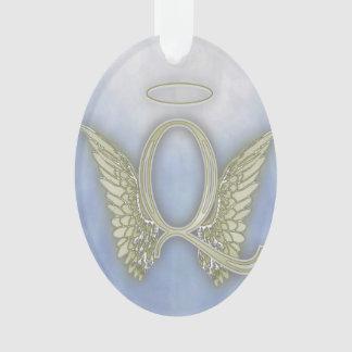 Engels-Monogramm des Buchstabe-Q Ornament