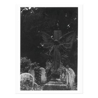 Engels-Statue-alte Friedhofs-Postkarte Postkarte