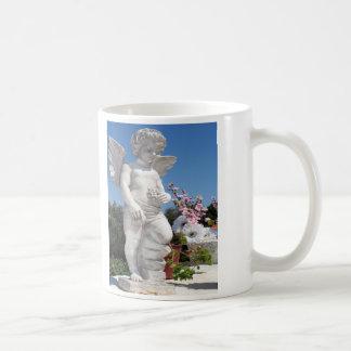 Engels-Statue Kaffee Haferl