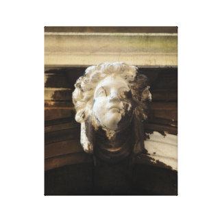 Engels-Statue Venedigs Italien Leinwanddruck