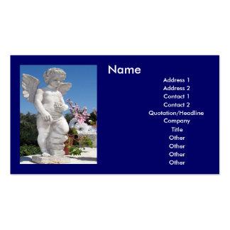 Engels-Statue Visitenkarten