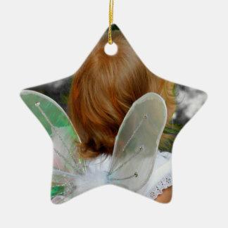 Engels-Stern-Feiertags-Verzierung - jjhelene Keramik Ornament