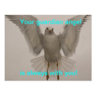 Engels-Vogel Postkarte