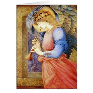 Engels-Weihnachtskarten-schöne Kunst Burne-Jones Grußkarte