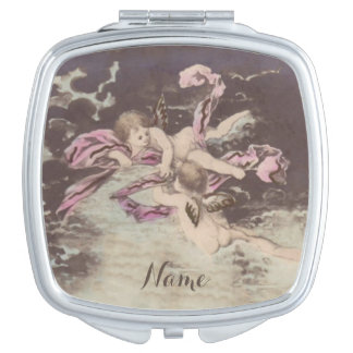 Engels-Wolken - kompakter Spiegel Taschenspiegel