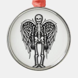 Engelsskelett Silbernes Ornament