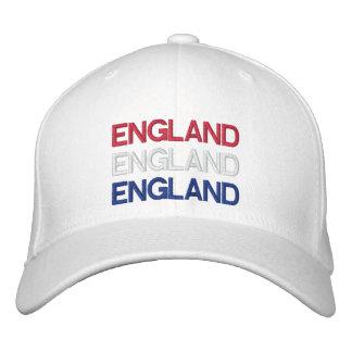 ENGLAND BESTICKTE KAPPE
