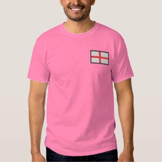 England Besticktes T-Shirt