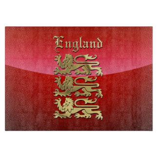 England - die königlichen Arme Schneidebrett