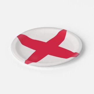 England-Englisch-Flagge Pappteller