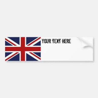 England-Flagge 3 Autoaufkleber