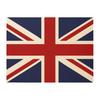 England-Flagge 3 Holzwanddeko
