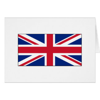 England-FLAGGE International Karte