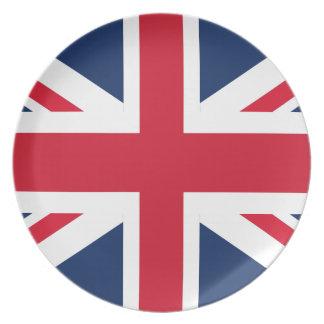 England-Flagge Melaminteller