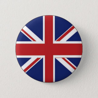 England-Flagge Runder Button 5,7 Cm