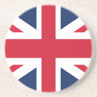 England-Flagge Sandstein Untersetzer
