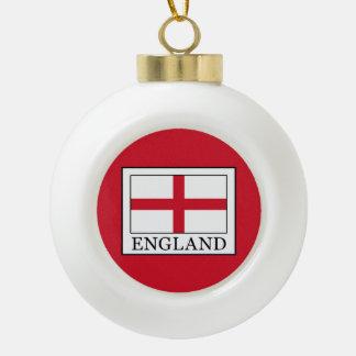 England Keramik Kugel-Ornament