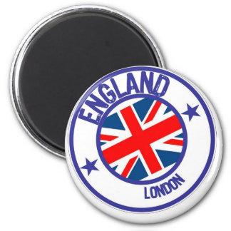 ENGLAND RUNDER MAGNET 5,1 CM