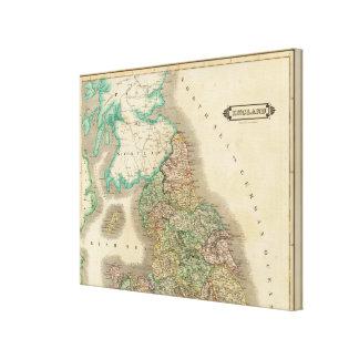 England Nord Gespannte Galeriedrucke