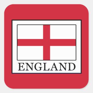 England Quadratischer Aufkleber