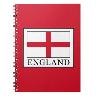 England Spiral Notizblock