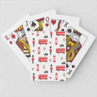 England-Symbol-Muster Spielkarten
