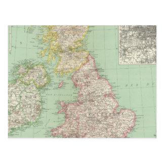 England und Irland Postkarten