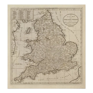 England und Wales 6 Poster