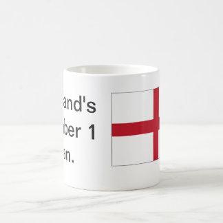 Englands Fan-Becher Zahl-1 Kaffeetasse