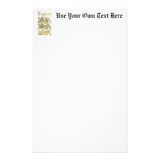 Englands Wappen Briefpapier