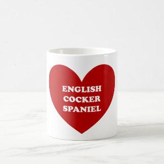 Englisch Cocker spaniel Kaffeetasse