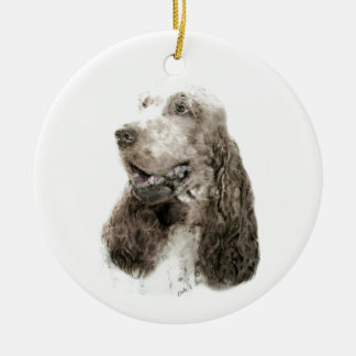 Englisch Cocker spaniel Keramik Ornament