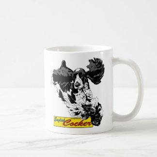 Englisch-Cocker spaniel-Springen Kaffeetasse