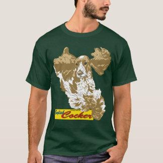 Englisch-Cocker spaniel-Springen T-Shirt